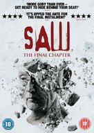 Saw 3D - British DVD cover (xs thumbnail)