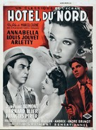 Hôtel du Nord - Belgian Movie Poster (xs thumbnail)