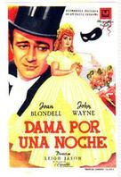 Lady for a Night - Italian Movie Poster (xs thumbnail)
