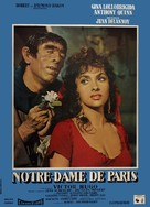 Notre-Dame de Paris - French Movie Poster (xs thumbnail)