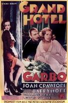 Grand Hotel - Swedish Movie Poster (xs thumbnail)