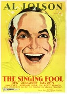The Singing Fool - Swedish Movie Poster (xs thumbnail)