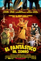 Fantastic Mr. Fox - Mexican Movie Poster (xs thumbnail)