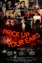 Prick Up Your Ears - British Movie Poster (xs thumbnail)