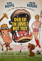 Call Me Bwana - Danish Movie Poster (xs thumbnail)