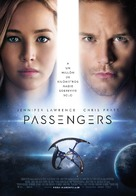 Passengers - Spanish Movie Poster (xs thumbnail)