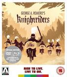 Knightriders - British Blu-Ray cover (xs thumbnail)