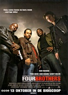 Four Brothers - Dutch Movie Poster (xs thumbnail)