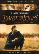 Dances with Wolves - French DVD cover (xs thumbnail)