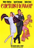Cactus Flower - DVD cover (xs thumbnail)