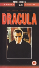 Dracula - British VHS cover (xs thumbnail)