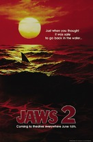 Jaws 2 - Teaser movie poster (xs thumbnail)