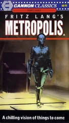 Metropolis - British VHS movie cover (xs thumbnail)