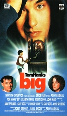 Big - Spanish VHS movie cover (xs thumbnail)