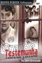 Au hasard Balthazar - Brazilian DVD movie cover (xs thumbnail)