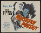Northern Pursuit - Theatrical movie poster (xs thumbnail)