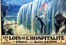 Our Hospitality - French Movie Poster (xs thumbnail)