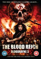 Bloodrayne: The Third Reich - British DVD movie cover (xs thumbnail)