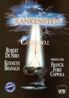 Frankenstein - Argentinian DVD movie cover (xs thumbnail)