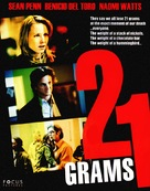 21 Grams - DVD movie cover (xs thumbnail)