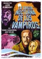Orgía nocturna de los vampiros, La - Spanish Movie Poster (xs thumbnail)