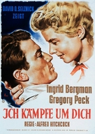 Spellbound - German Movie Poster (xs thumbnail)
