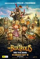 The Boxtrolls - Australian Movie Poster (xs thumbnail)