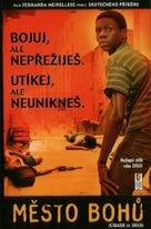 Cidade de Deus - Czech DVD cover (xs thumbnail)