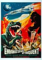 Kaijû sôshingeki - French Movie Poster (xs thumbnail)