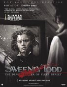 Sweeney Todd: The Demon Barber of Fleet Street - For your consideration movie poster (xs thumbnail)