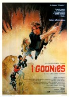 The Goonies - Italian Theatrical movie poster (xs thumbnail)