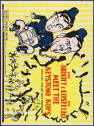 Abbott and Costello Meet the Keystone Kops - Movie Poster (xs thumbnail)