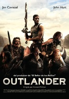 Outlander - Spanish Movie Poster (xs thumbnail)