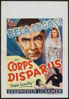 The Corpse Vanishes - Belgian Movie Poster (xs thumbnail)