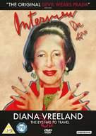 Diana Vreeland: The Eye Has to Travel - British DVD cover (xs thumbnail)