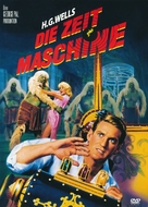 The Time Machine - German DVD cover (xs thumbnail)