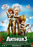 Arthur et la guerre des deux mondes - Dutch Movie Poster (xs thumbnail)