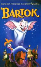 Bartok the Magnificent - Czech VHS cover (xs thumbnail)