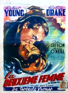 The Second Woman - Belgian Movie Poster (xs thumbnail)
