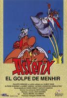 Astérix et le coup du menhir - Spanish VHS cover (xs thumbnail)