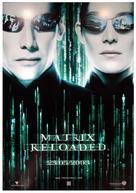 The Matrix Reloaded - Italian Movie Poster (xs thumbnail)