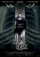 Alone in the Dark - German Movie Poster (xs thumbnail)