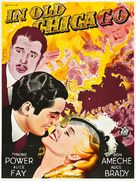 In Old Chicago - Swedish Movie Poster (xs thumbnail)