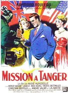 Mission à Tanger - French Movie Poster (xs thumbnail)