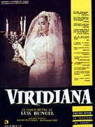 Viridiana - French Movie Poster (xs thumbnail)
