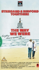 The Way We Were - British VHS movie cover (xs thumbnail)