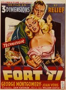 Fort Ti - Belgian Movie Poster (xs thumbnail)
