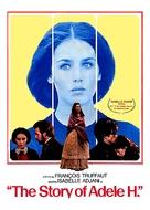 L'histoire d'Adèle H. - DVD movie cover (xs thumbnail)