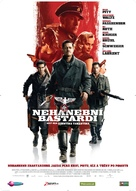 Inglourious Basterds - Slovak Movie Poster (xs thumbnail)