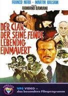 Confessione di un commissario di polizia al procuratore della repubblica - German VHS movie cover (xs thumbnail)
